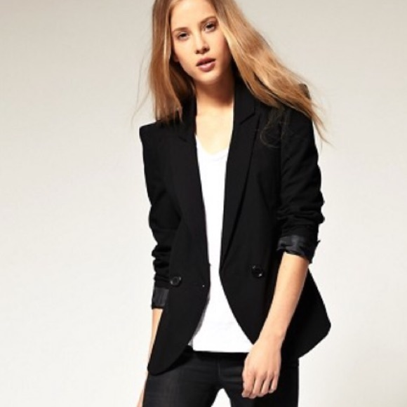 ASOS Jackets & Blazers - ASOS Tailored Blazer with power shoulders